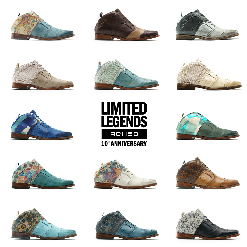Rehab footwear limited ledgends shoes