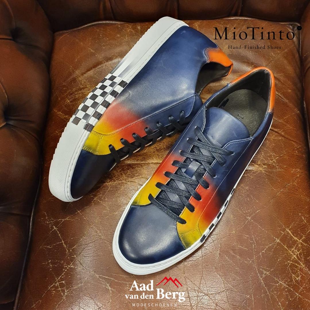 Mio Tinto F1 sneaker limited edtion bij Aad van den Berg schoenen
