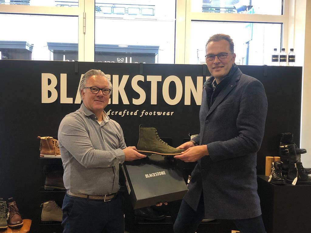 Jeroen Latijnhouwer en Maarten van den Berg mer Blackstone boots