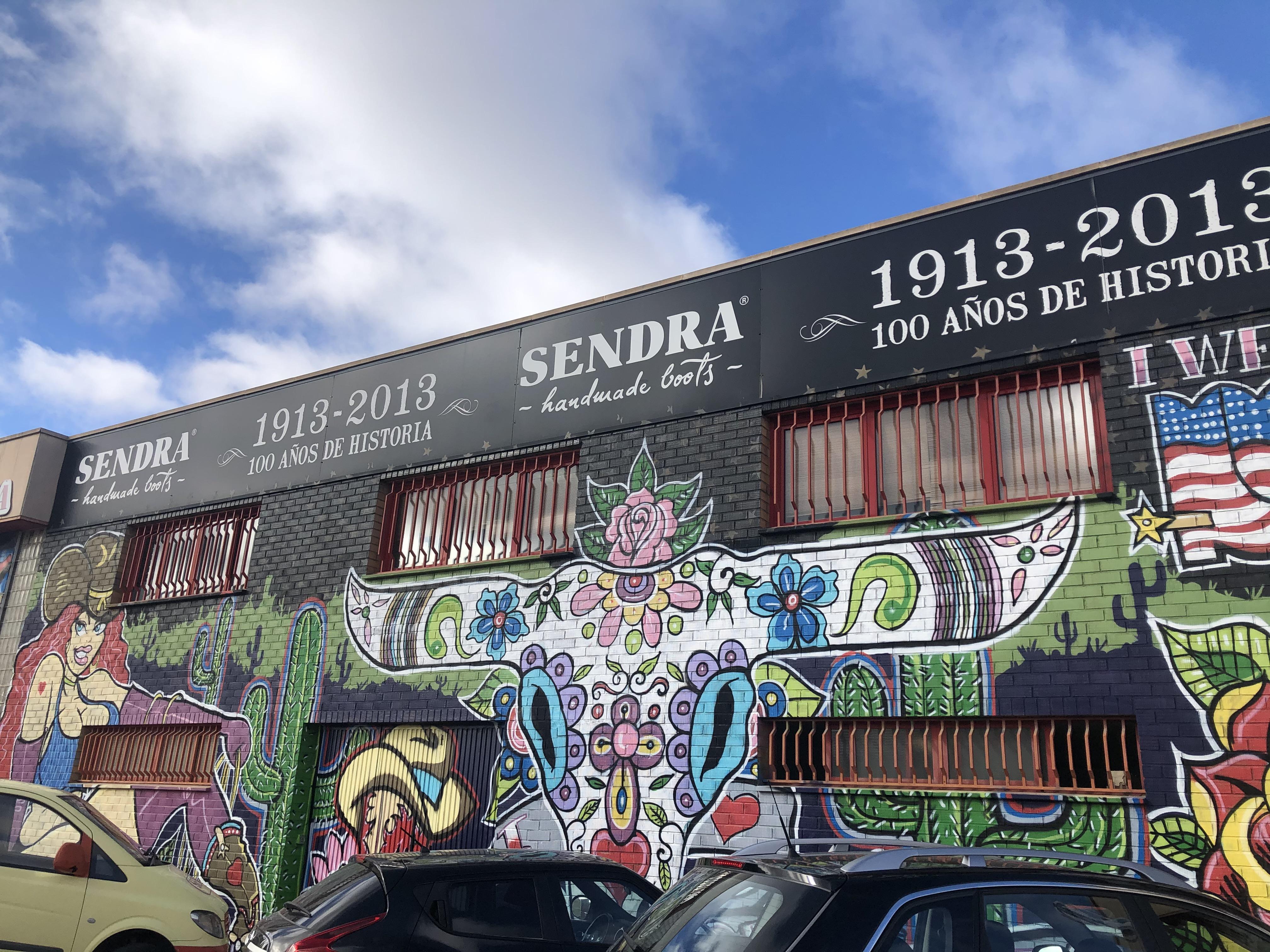 Sendra de fabriek Almansa