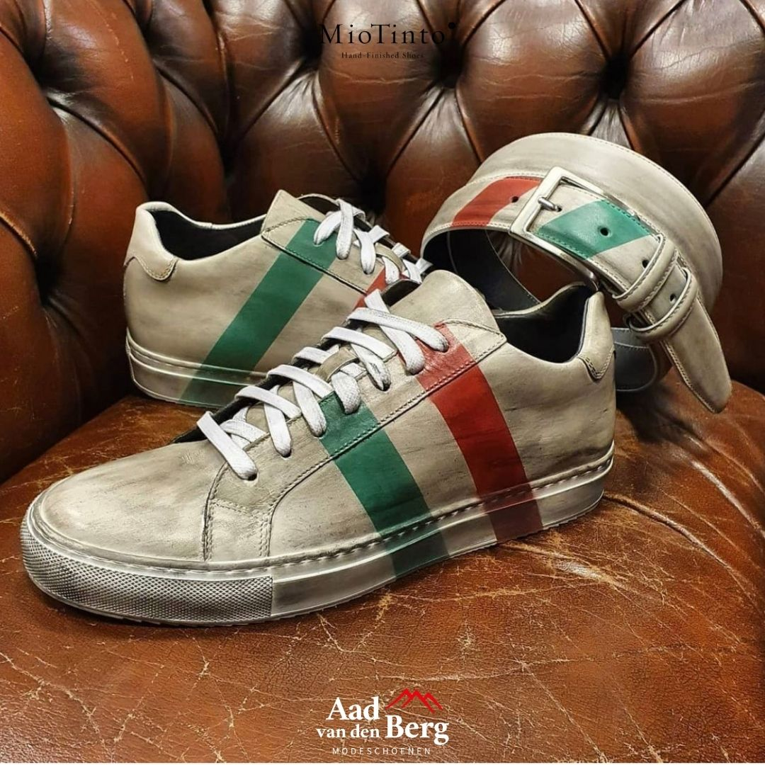 Mio Tinto Italie sneaker limited edtion bij Aad van den Berg schoenen