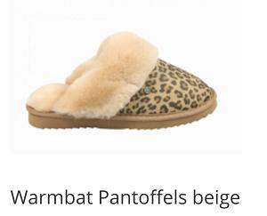 Warmbat pantoffels Flurry panter