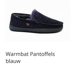 Warmbat pantoffels Grizzly