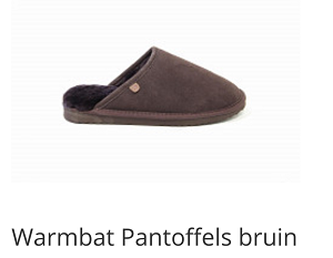 WArmbat pantoffels MS classic