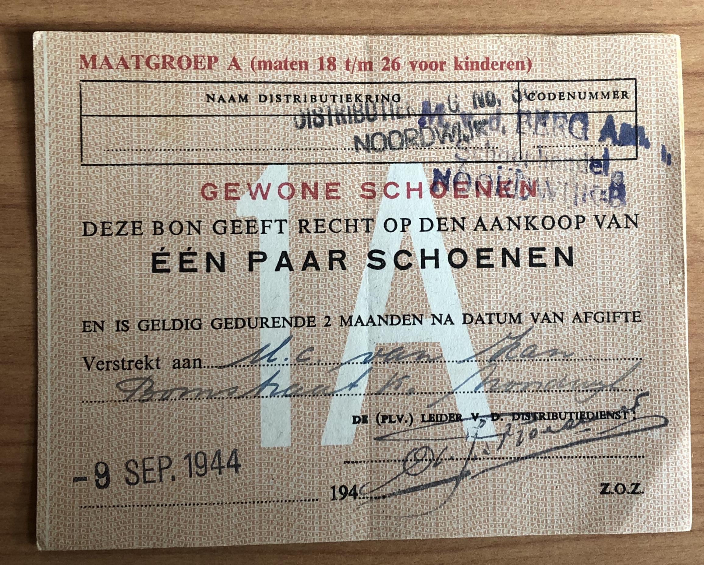schoenenbon 9-9-1944