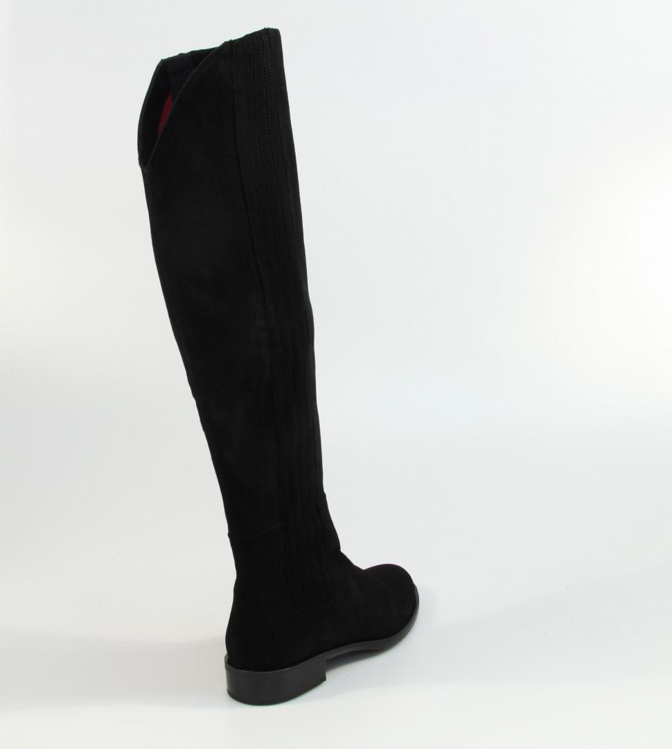 Lilian Damesschoenen Laarzen zwart | Aad van den Berg