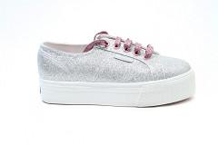 Superga Damesschoenen Sneakers zilver