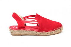 Toni Pons Damesschoenen Sandalen rood