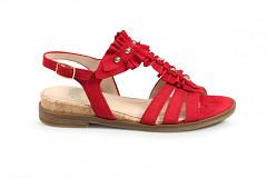 Gabor Damesschoenen Sandalen rood