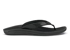 OluKai Damesschoenen Slippers zwart