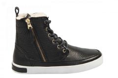 Blackstone Shoes Damesschoenen Veterlaarsjes zwart
