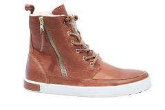 Blackstone Shoes Damesschoenen Veterlaarsjes bruin