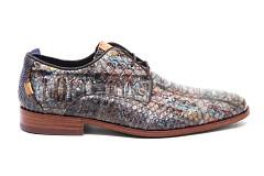 Rehab Footwear Herenschoenen Veterschoenen bruin