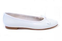 Aad van den Berg Modeschoenen Damesschoenen Instappers wit