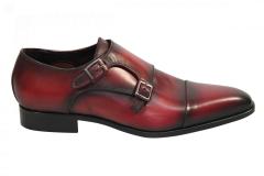 MioTinto Herenschoenen Gesp schoenen rood