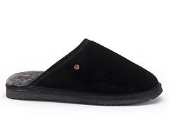 Warmbat Pantoffels zwart