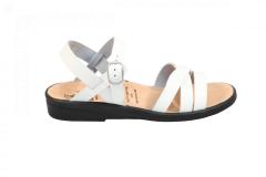 Ganter Damesschoenen Sandalen wit