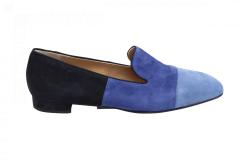 Nalini Damesschoenen Instappers blauw