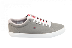Tommy Hilfiger Herenschoenen Sneakers grijs