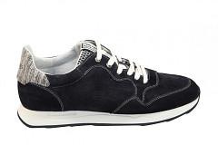 Floris van Bommel Herenschoenen Sneakers blauw