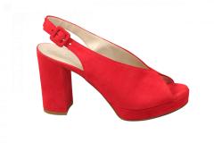 Lilian Damesschoenen Sandalen rood