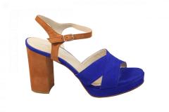 Lilian Damesschoenen Sandalen blauw