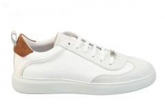 Gino-B Herenschoenen Sneakers wit