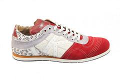 Kamo-Gutsu Herenschoenen Sneakers rood