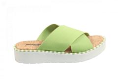 Rapisardi Damesschoenen Slippers groen