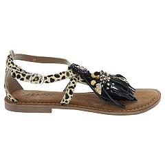Lazamani Damesschoenen Sandalen beige