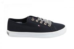 Tommy Hilfiger Damesschoenen Sneakers blauw