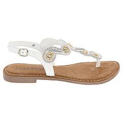 Lazamani Damesschoenen Sandalen wit