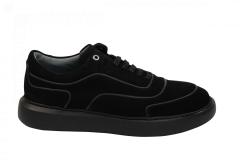 Gino-B Herenschoenen Sneakers zwart