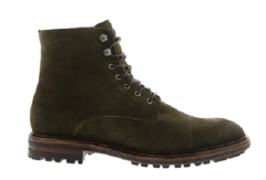 Blackstone Shoes Herenschoenen Veterlaarzen groen