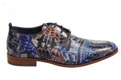 Rehab Footwear Herenschoenen Veterschoenen blauw