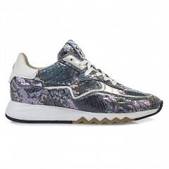 Floris van Bommel Damesschoenen Sneakers blauw