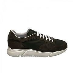 Gino-B Herenschoenen Sneakers groen
