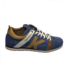 Kamo-Gutsu Herenschoenen Sneakers blauw