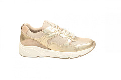 Shoecolate Damesschoenen Sneakers goud