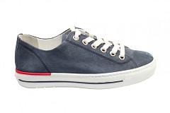 Paul Green Damesschoenen Sneakers blauw