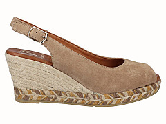 Viquera Damesschoenen Sandalen beige