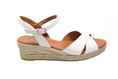 Viquera Damesschoenen Sandalen wit