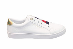 Tommy Hilfiger Damesschoenen Sneakers wit