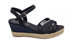 Tommy Hilfiger Damesschoenen Sandalen blauw
