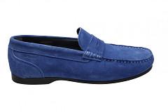Sebago Herenschoenen Instappers blauw
