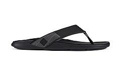 OluKai Herenschoenen Slippers zwart
