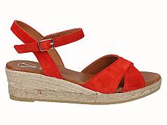 Viguera Damesschoenen Sandalen rood