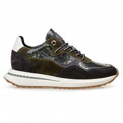 Floris van Bommel Damesschoenen Sneakers groen