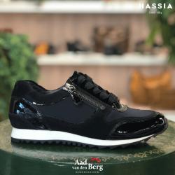 Hassia Damesschoenen Sneakers zwart 301914 Barcelona 231010079