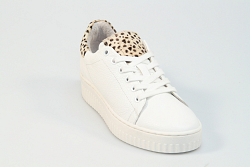 Shoecolate Damesschoenen Sneakers wit 8.10.02.048 231040164